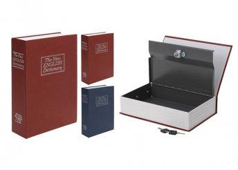 Könyv alakú biztonsági doboz