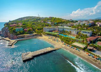 8 nap a török riviérán, Alanyában, repülőjeggyel, all inclusive ellátással, a Kemalbay Hotelben*****