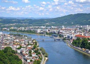 5 napos hajós kirándulás a Dunán Passauig, reggelivel, 3*-os szállodákban, busszal, hajóval, idegenvezetéssel