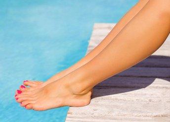 Pedikűr és gél lakkozás lábfejed ápolásáért