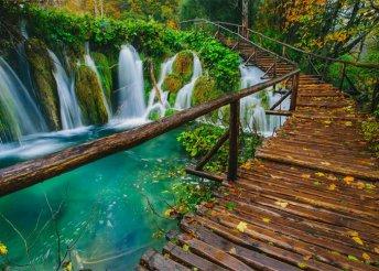 Buszos utazás Zágrábba és a Plitvicei-tavakhoz, 1 éjszaka szállással, reggelivel és idegenvezetéssel