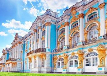 5 nap 1 főre Szentpéterváron, repülőjeggyel, 4*-os szállással, reggelivel, idegenvezetéssel, Pünkösdkor is