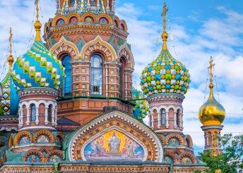 6 nap 1 főre Szentpéterváron, repülőjeggyel, 4*-os szállással, reggelivel, idegenvezetéssel