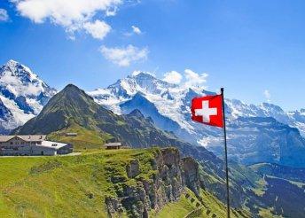 8 napos svájci körutazás buszos utazással, reggelivel, idegenvezetéssel – Innsbruck, Zürich, Lugano, Lausanne