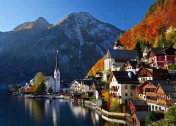 8 nap Ausztriában, a Salzkammerguti-tavaknál, busszal, reggelivel, idegenvezetéssel,