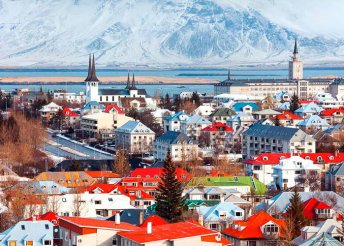 3 éjszaka Izlandon, Reykjavíkban, repülőjeggyel, illetékkel, helyi buszos utazásokkal, reggelivel