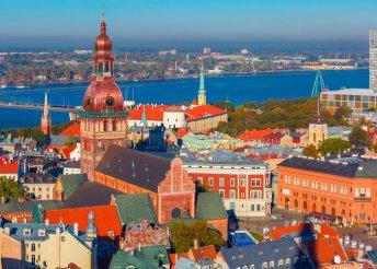 8 nap a Baltikumban, repülőjeggyel, helyi busszal, reggelivel, idegenvezetéssel