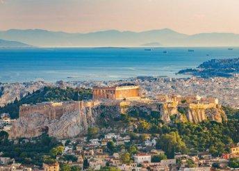 8 napos körutazás Görögországban repülőjeggyel, illetékkel, félpanzióval, idegenvezetéssel