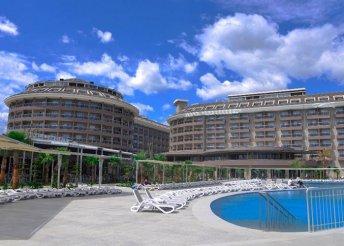 8 nap a török riviérán, Sidében, repülőjeggyel, all inclusive ellátással a Sunmelia Beach Resort Hotelben*****