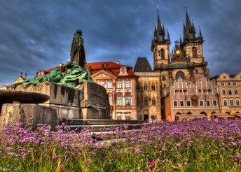 4 napos városnézés Prágában, busszal, reggelivel, idegenvezetéssel, fakultatív kirándulásokkal