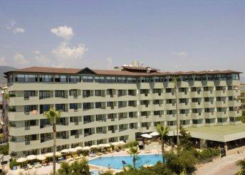 8 napos nyaralás a török riviérán, Alanyában, repülőjeggyel, all inclusive ellátással, az Elysee Hotelben****