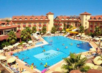 8 nap a török riviérán, Sidében, repülőjeggyel, all inclusive ellátással, az Orfeus Park Hotelben****