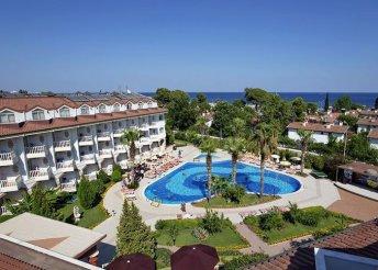 8 nap a török riviérán Kemerben, repülőjeggyel, all inclusive ellátással, a Larissa Sultans Beach Hotelben****