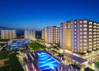 8 nap a török riviérán, Antalyában, repülőjeggyel, all inclusive ellátással, a Grand Park Lara**** hotelben