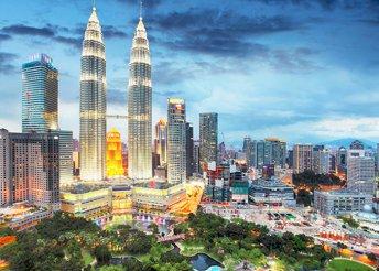 12 napos körutazás Malajziában és Szingapúrban, repülőjeggyel, helyi busszal, 9 reggelivel, 6 főétkezéssel