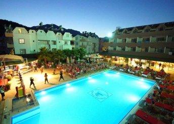 8 napos nyaralás Kemerben, repülőjeggyel, all inclusive ellátással, a Grand Viking Hotelben****