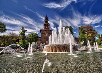 5 nap 1 főre az olasz tóvidéken és Milánóban, busszal, reggelivel, idegenvezetéssel – augusztus 20-án is