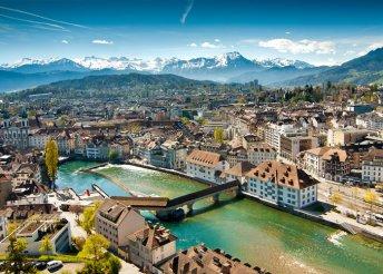 5 nap Svájcban, busszal, reggelivel, idegenvezetéssel – Alpok, Luzern, Innsbruck, Milánó