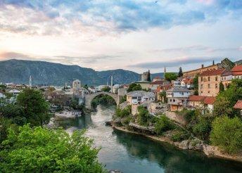 8 nap Bosznia-Hercegovina tengerpartján, busszal, félpanzióval, idegenvezetéssel, fakultatív kirándulásokkal