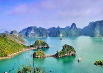18 napos körutazás Vietnámban, Laoszban és Kambodzsában, repülővel, helyi busszal, idegenvezetéssel