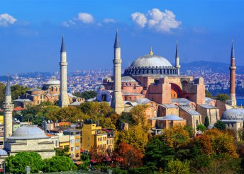 6 nap Isztambulban, repülővel, buszos utazásokkal, félpanzióval, idegenvezetéssel, programokkal