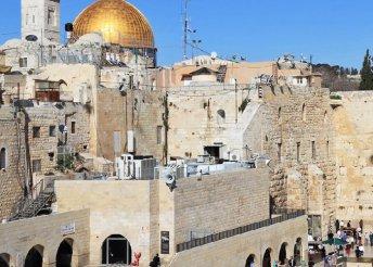 5 napos őszi körutazás a Szentföldön, Izraelben, repülővel, helyi buszos utazással, reggelivel