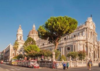 8 napos körutazás Szicíliában, reggelivel, 3 vacsorával, helyszíni buszos közlekedéssel, idegenvezetéssel