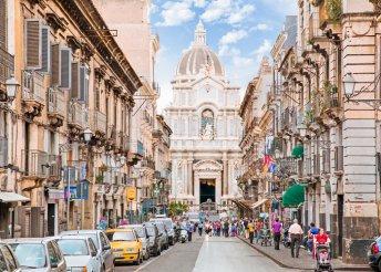 5 napos körutazás Szicíliában, repülővel, reggelivel, programokkal, idegenvezetéssel