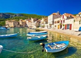 5 napos nyaralás Vis-szigeten, az Adriai-tengeren, Horvátországban, busszal, reggelivel, idegenvezetéssel