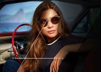 Szemüveg autóvezetéshez a Totál Optikától, a szélvédő mögött is fényre sötétedő, speciális XTRActive lencsével