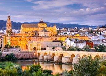 6 napos kirándulás Andalúziában, mór emlékek nyomában, repülővel, félpanzióval, idegenvezetéssel