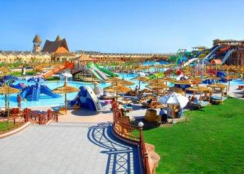 8 napos nyaralás Hurghadán, all inclusive ellátással, repülővel, a Pickalbatros Jungle Aqua Parkban****