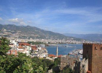 8 napos nyaralás 1 főre a török riviérán, Alanyában, repülőjeggyel, all inclusive ellátással, a Sevkibey Hotelben***