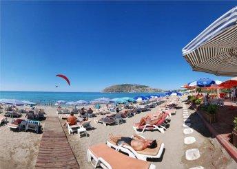 8 napos nyaralás a török riviérán, Alanyában, repülőjeggyel, reggelivel, a Wien Hotelben***