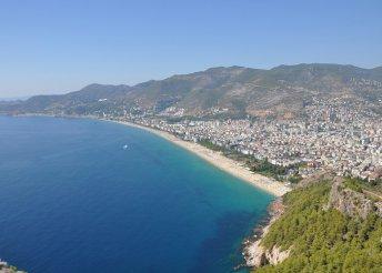 8 napos nyaralás a török riviérán, Alanyában, repülőjeggyel, all inclusive ellátással, a Diamore Hotelben***