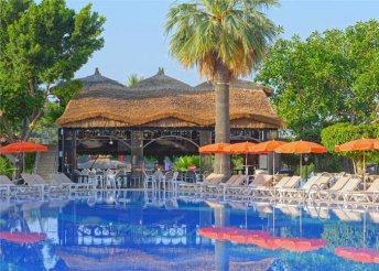 8 napos nyaralás Alanyában, repülőjeggyel, all inclusive ellátással, a tengerparti Justiniano Clubban****