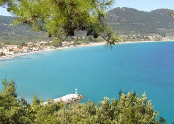 12 vagy 15 napos nyaralás 2 főre Görögországban, Thassoson, busszal, önellátással, a Susie Stúdiókban