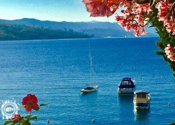 1 napos strandolás az Adriai-tengernél, a horvátországi Opatiján, buszos utazás a pünkösdi hétvégén