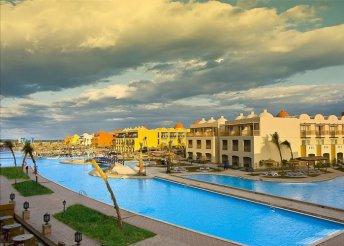 8 napos nyaralás Hurghadán all inclusive ellátással, repülővel, transzferrel, a Titanic Beach***** hotelben