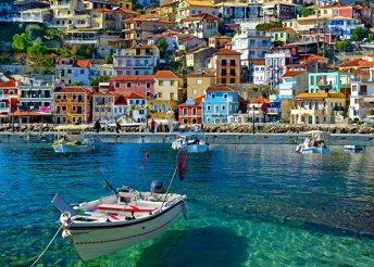 10-14 napos nyaralás 2 főre Görögországban, Pargában, buszos utazással, önellátással, a Dimas Stúdiókban