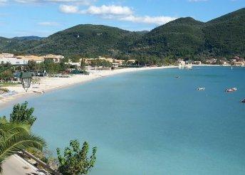 13-14 napos nyaralás 2 főre Görögországban, Lefkada szigetén, busszal, önellátással, a Rolandos Stúdiókban