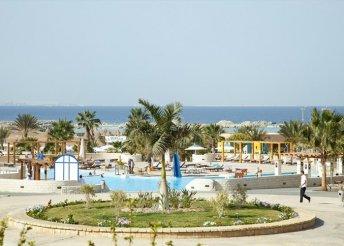 8 napos nyaralás Egyiptomban, Hurghadán, all inclusive  repülővel, transzferrel, Coral Beach Resort
