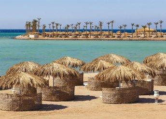8 napos nyaralás Egyiptomban, Hurghadán, all inclusive ellátással, repülővel, transzferrel, a Meraki Resortban