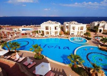 8 napos nyaralás Sharm El Sheikh-en all inclusive ellátással, repülővel, transzferrel, a Shores Aloha hotelben