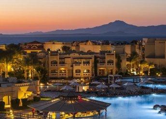 8 napos nyaralás Sharm El Sheikh-en ultra all inclusive ellátással, repülővel, transzferrel, 5*-os hotelben