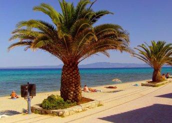11-14 nap 2 főre Görögországban, a Chalkidiki-félszigeten, busszal, önellátással, a Sofia Stúdiókban