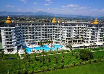 8 napos nyaralás Sidében, repülőjeggyel, ultra all inclusive ellátással, a Heaven Beach Resortban*****