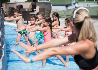 7 napos gyermekbarát nyári vakáció félpanzióval Hévízen, a NaturMed Hotel Carbona**** superior hotelben
