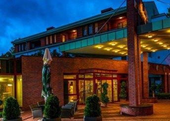 4 nap Pünkösdkor 2 főre a harkányi Dráva Hotel Thermal Resortban félpanzióval, wellness használattal
