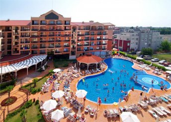 8 napos nyaralás Naposparton, repülővel, all inclusive ellátással, transzferrel, a Diamant Residence-ben****